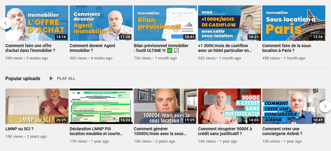 chaine youtube Sébastien More