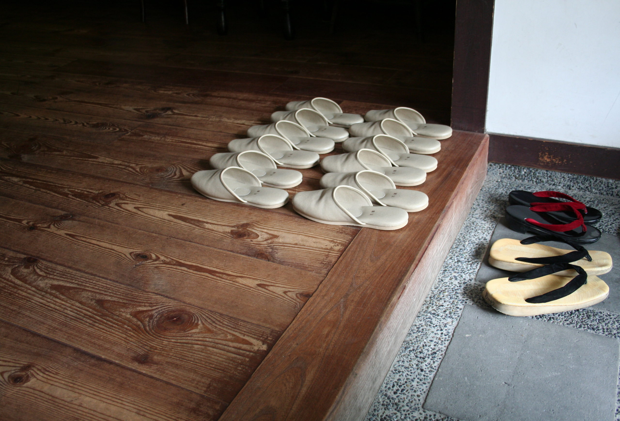 se déchausser comme au japon pour unemaison ou un appartement plus propre