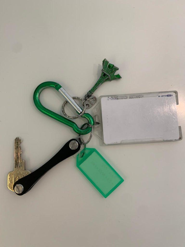 La clef et le porte-clef de votre Airbnb